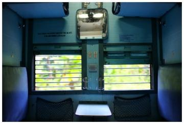 Indian Train Window