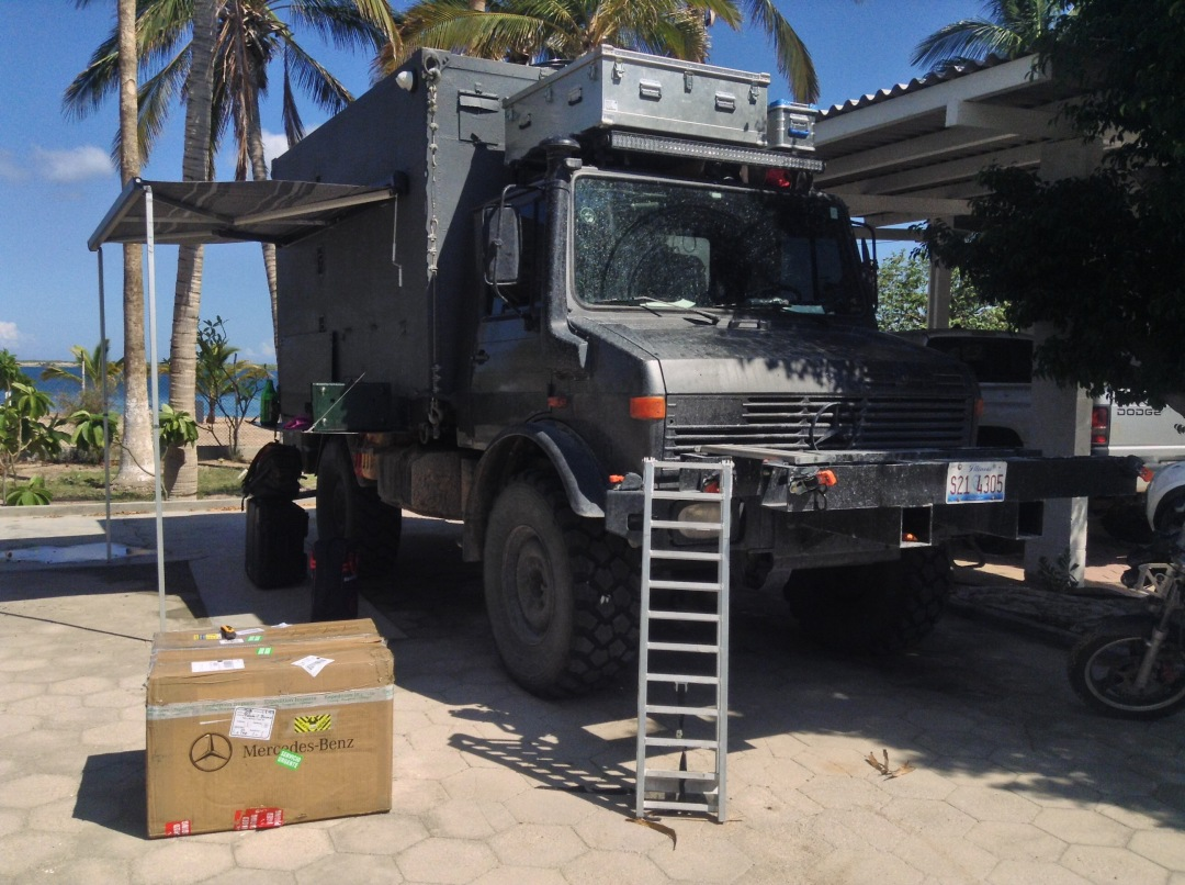 Getting spare parts: ACV Logistics Review
